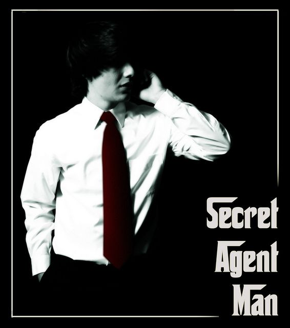 """So this week the photos I did were harder than expected, so I only had 3. My first two were the """"Secret Agent Man"""" Photos. I based them off of a tutorial I saw online. I started with one portrait shot, and then used another photo to create a themed s Tips on how to (start your own home business as a secret shopper.) Learn more by going to my site!"""