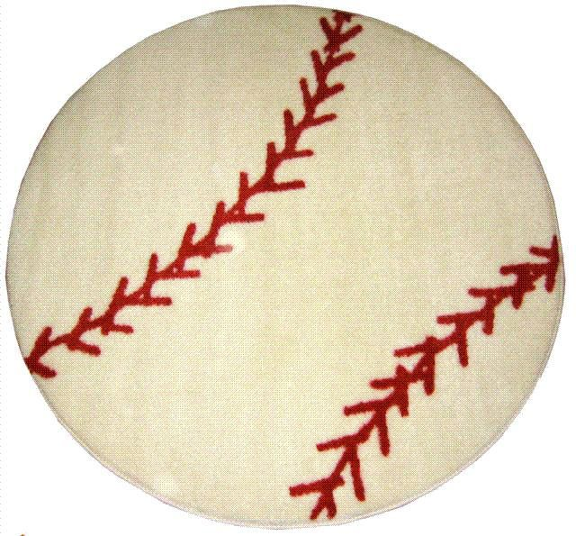 Attractive Baseball Rug
