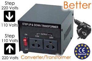 500 Watt Type 2 Voltage Converter Step Up & Down