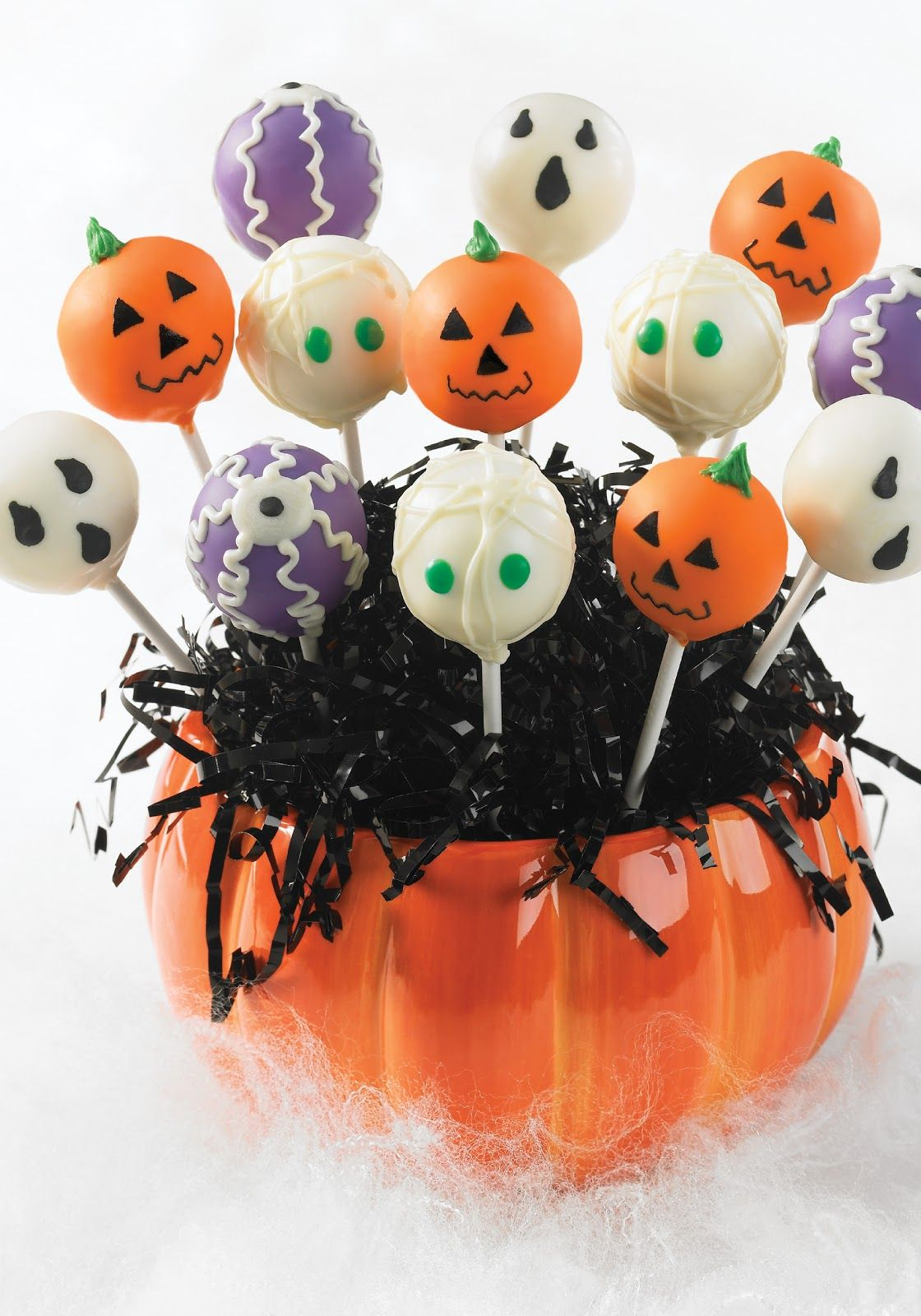 Halloween Cake Pops Recipe With Images Halloween Cake Pops