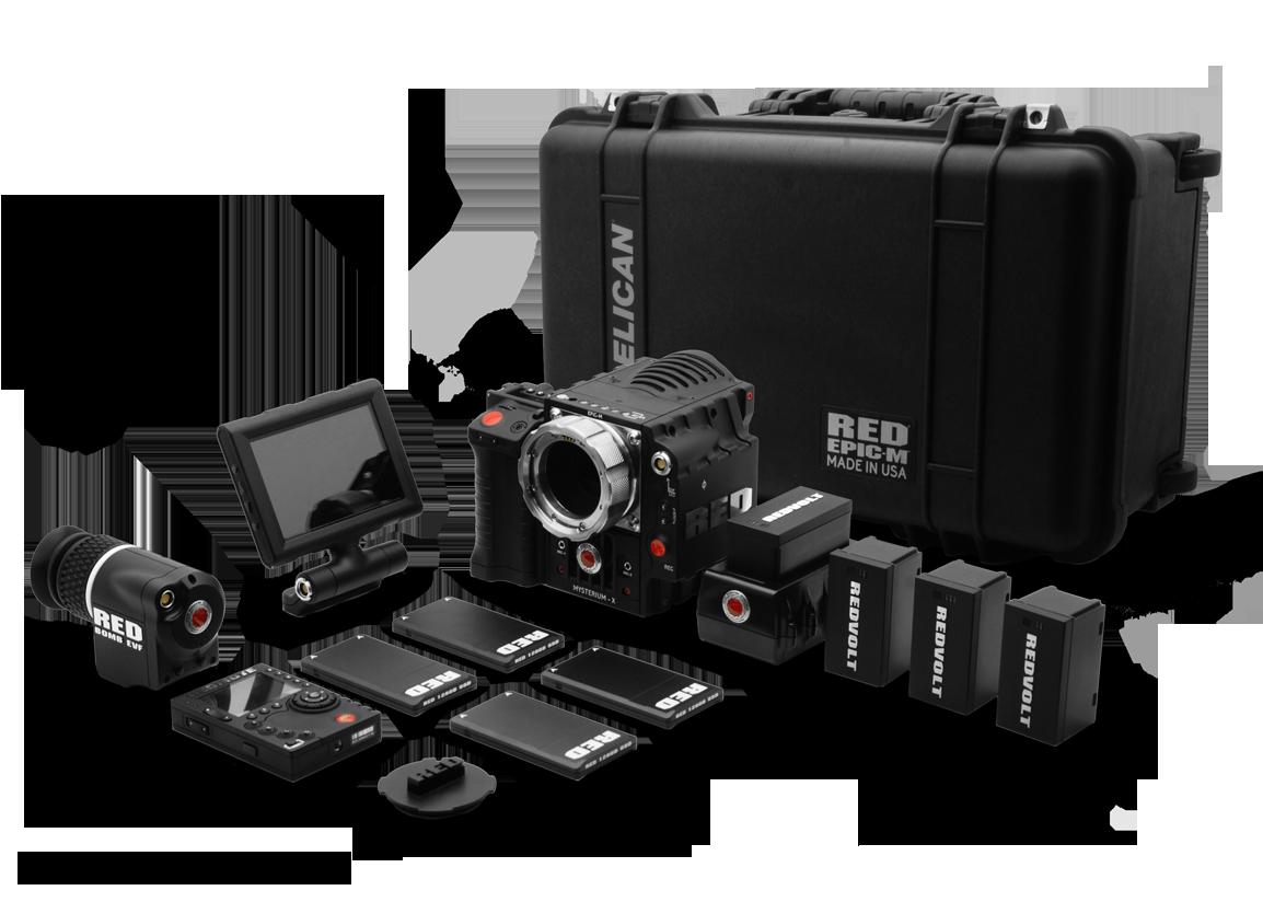 Red Epic M Collection Red Digital Cinema Cinema Camera Film Equipment