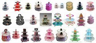 Resultado de imagem para expositor de cupcakes de arvore de natal