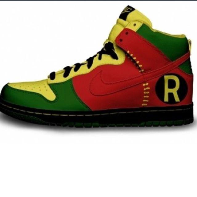 44d72be6b4ad Robin Nike Dunks. Robin Nike Dunks. Custom Sneakers