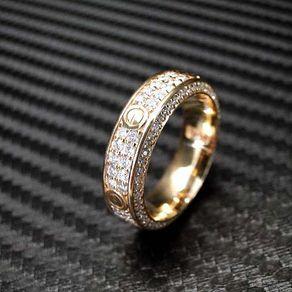 14k White Gold Mens Diamond Wedding Band Engagement Ring Mens Diamond Wedding Bands Cartier Love Ring Cartier Wedding Bands