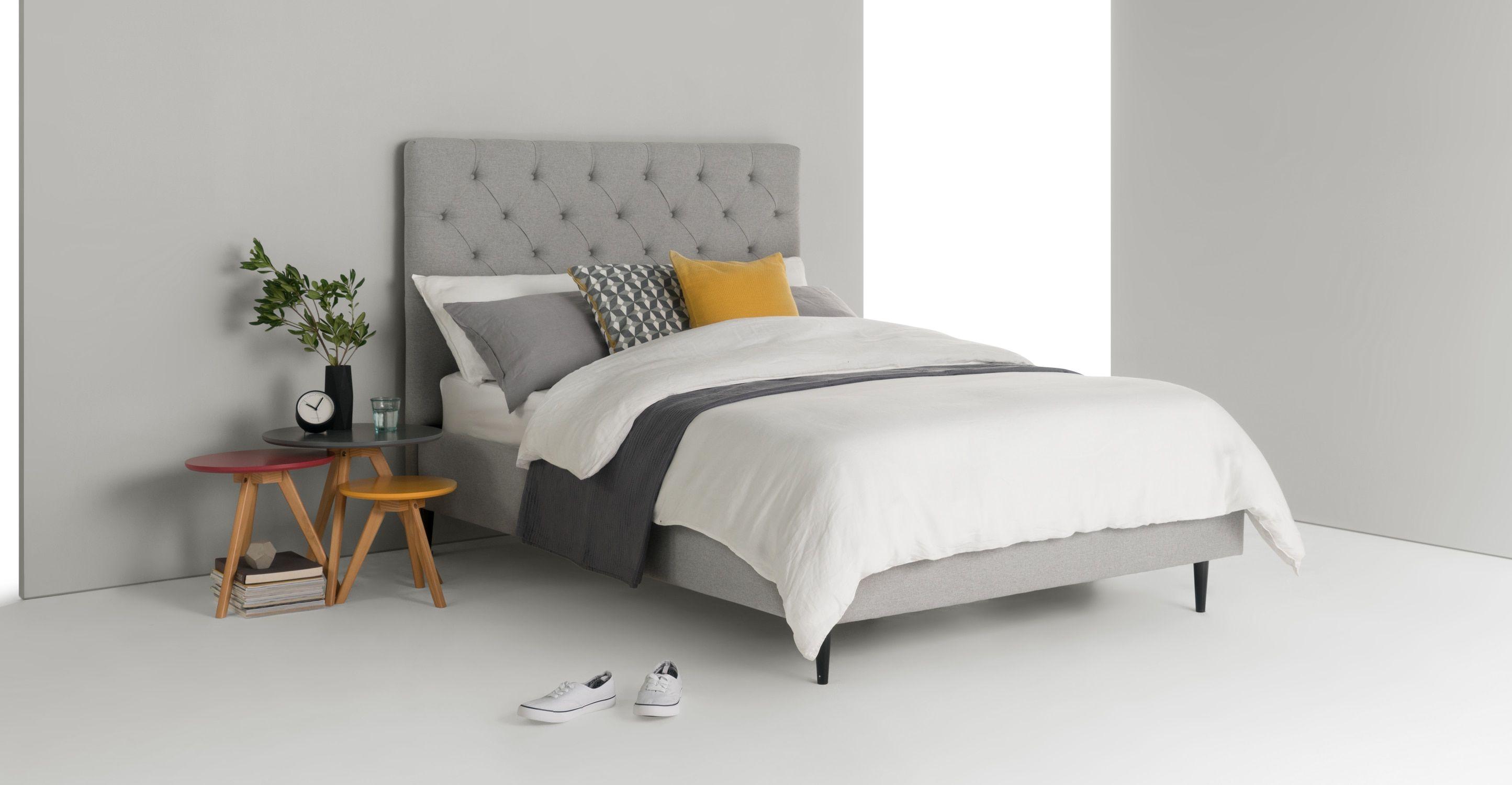 Skye Super King Size Bed Cool Grey Super King Size Bed King