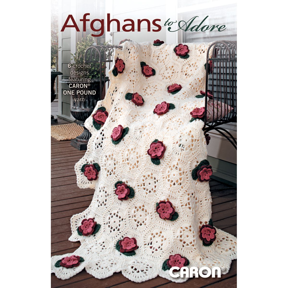 "Leisure Arts-Afghans To Adore -One Pound (""416408"") - Needlecraft Super Shop"