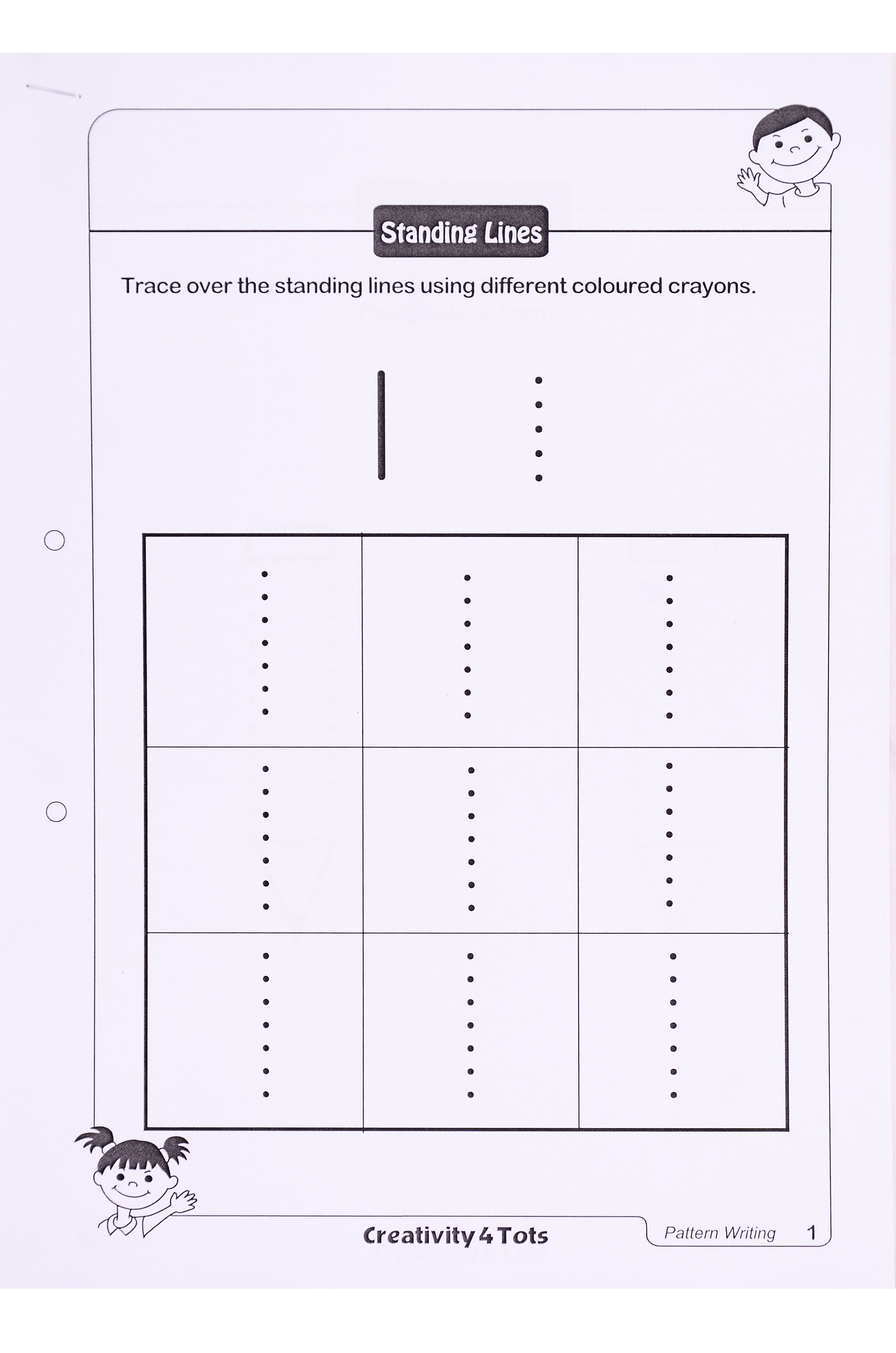Pattern Writing Worksheet