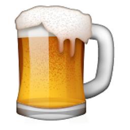Beer Mug Emoji U 1f37a U E047 Beer Emoji Beer Mug Beer