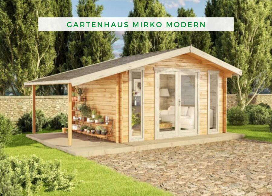 Alpholz Gartenhaus Mirko Modern D in 2020 Gartenhaus