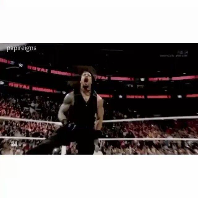 Going off.. creds: @reignsdeer ❤ fav asf hit her a follow. #Romanreigns #romanempire #joeanoai #leakee #samoan #wwe #superstar #athlete #awesome #instagood #messedup  #sad #makeitreigns #believeinromanreigns #believethat #believeintheshield #tflers #powerhouse #juggernaut #fearthespear #supermanpunch #romanslook #followme #uglyfollowtrain #icaniwill #hithard #hitoften #stayactive #followers