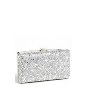 Tasha Textured Sparkle Clutch