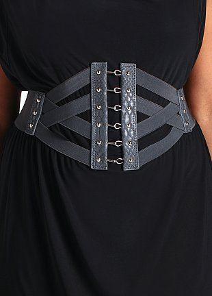 19 50 Criss Cross Corset Belt Corset Belt Outfit Corset Belt