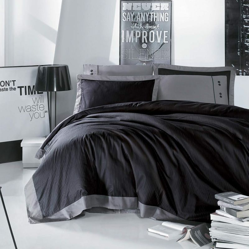 issimo xxl bettw sche darkness f r boxspringbetten 10 teilig passend f r winter und sommer. Black Bedroom Furniture Sets. Home Design Ideas