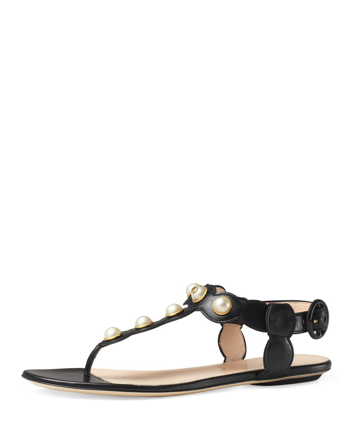 480436fcd70 Gucci Willow Pearly Thong Sandal