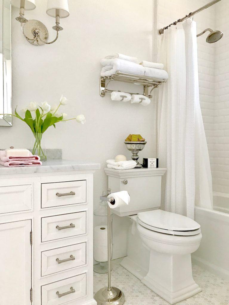 Guest Bathroom Renovation Reveal   Small bathrooms by Pamela Howard ...