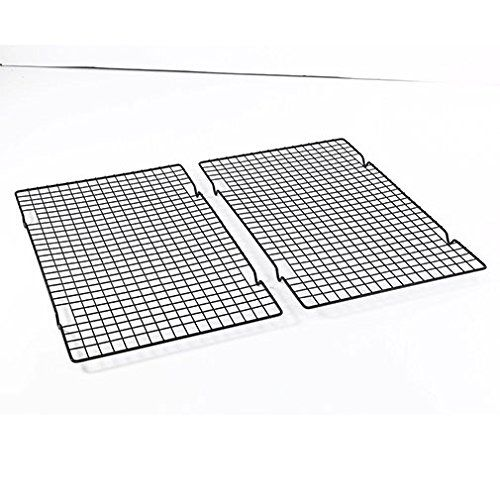 Set Of 2 Nonstick Cooling Rack Cooling Rack Sheet Cookware Set Cooking Kitchen Baking Pans Want Addi Cooling Racks Cooking Kitchen Kitchen Baking