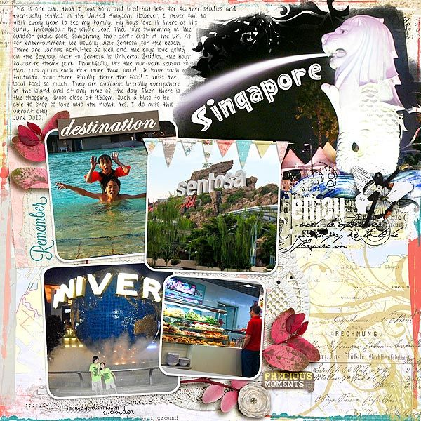 CITIES - Destination: Singapore - Creative Team Layouts ...