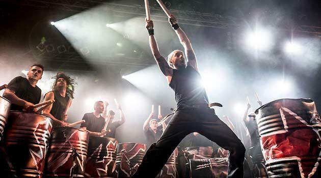 Les Tambours du Bronx actuarán en las fiestas de San Froilán 2013 de Lugo
