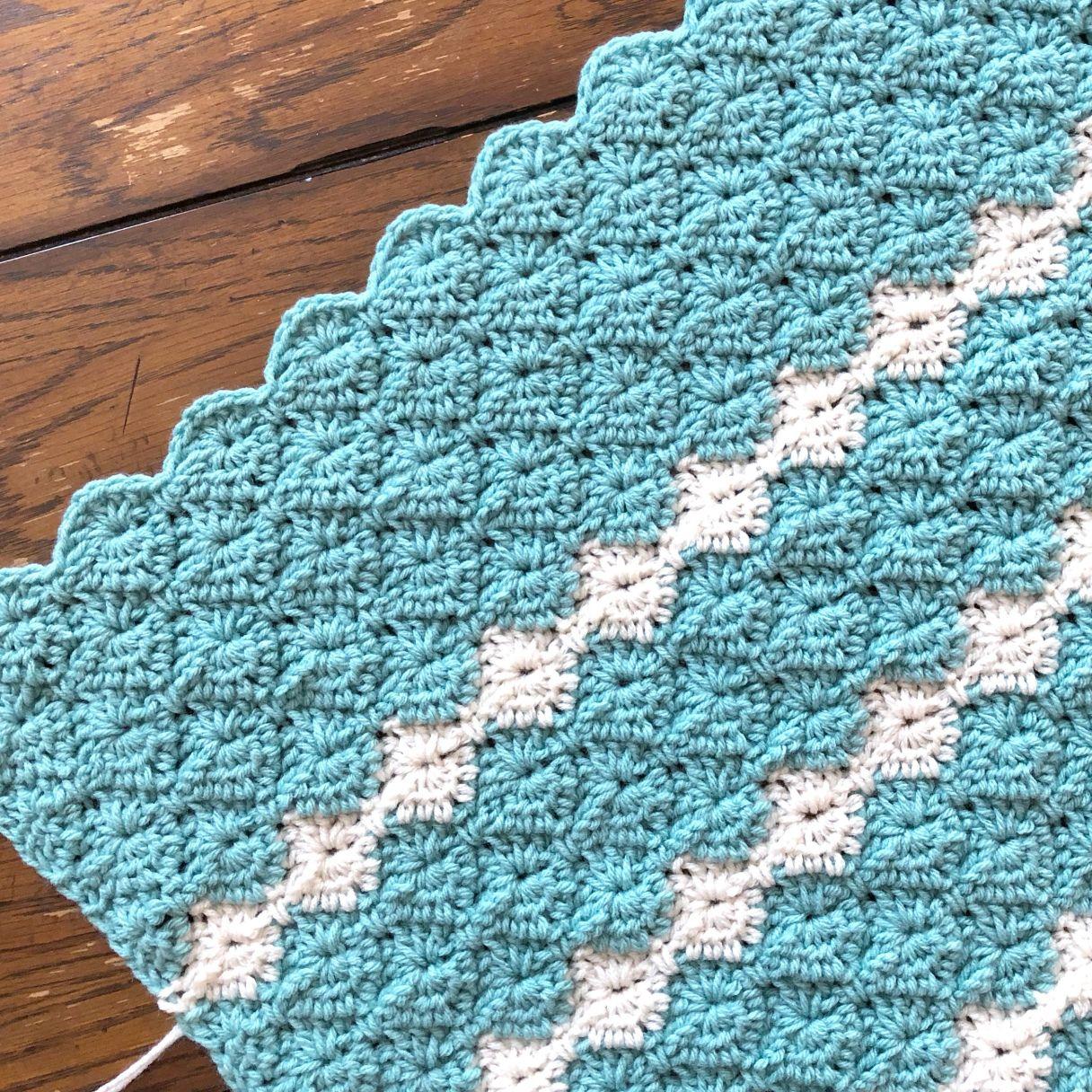 Meadow Crib/Lapghan Blanket Crochet Pattern | Crochet for ...