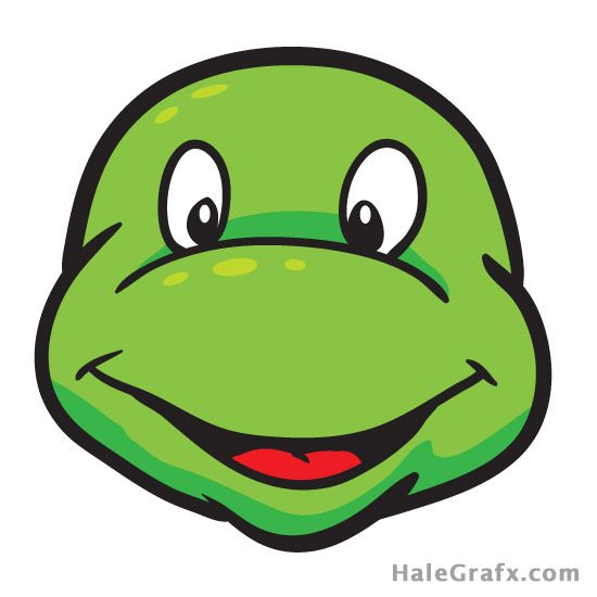 ptm ninja turtle 2 free tmnt pin the mask on the ninja turtle rh pinterest com ninja turtle clipart head vector