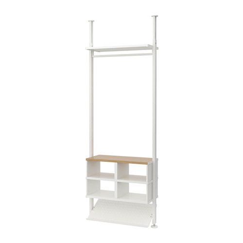 finest selection cff4c 4f33f ELVARLI Shelf unit - white | Products | Adjustable shelving ...