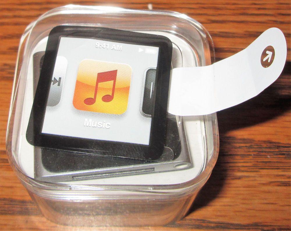 apple ipod nano 6th generation silver 8 gb unused in box new rh pinterest com ipod nano 6th generation instruction book iPod Nano 6th Generation Problems