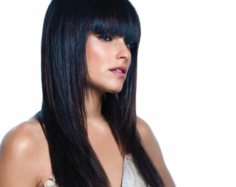 Tagli di capelli con frangetta 2019