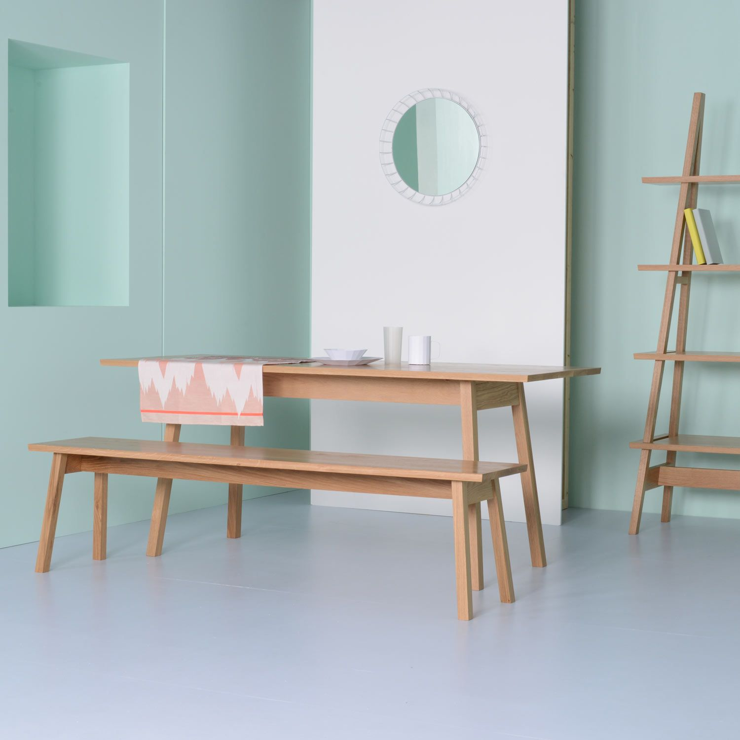 Ambrose A Frame Dining Table By Matt Elton | Rectangular Tables | Dining  Tables | Furniture