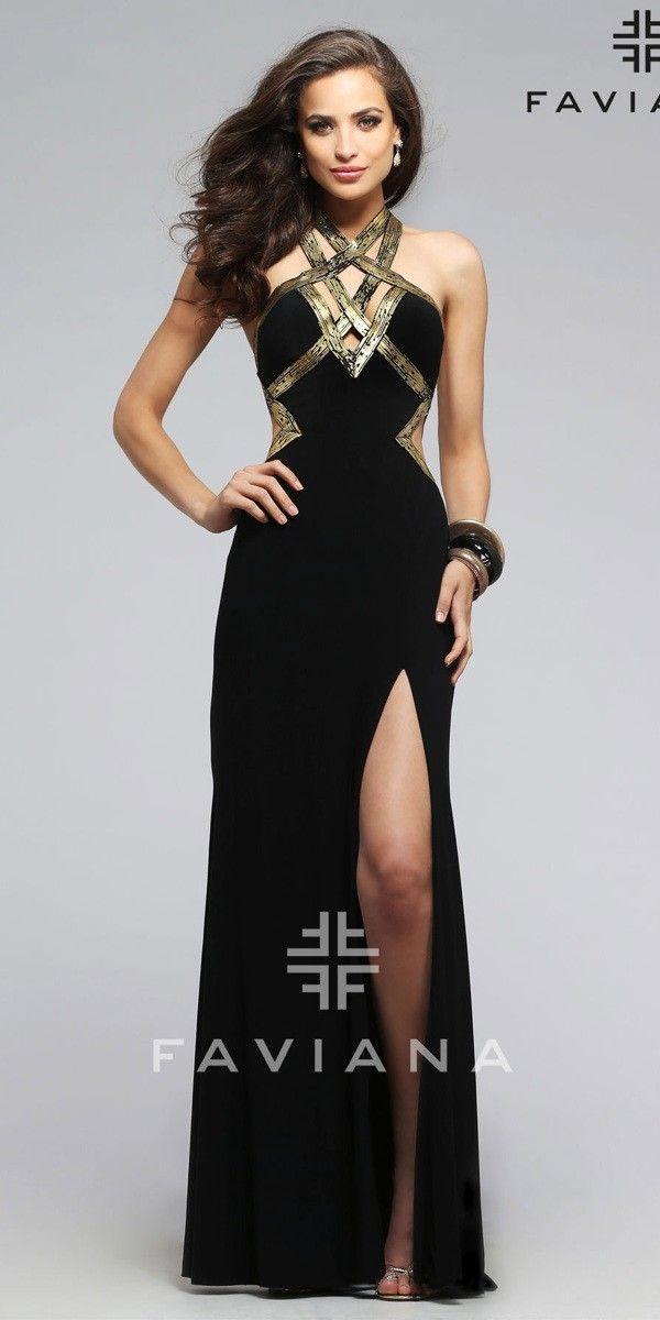 Long black dress size 12