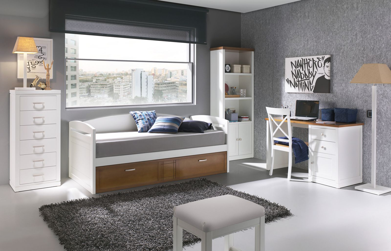 Dormitorios juveniles buscar con google cuarto pedro - Decoracion para dormitorio juvenil ...