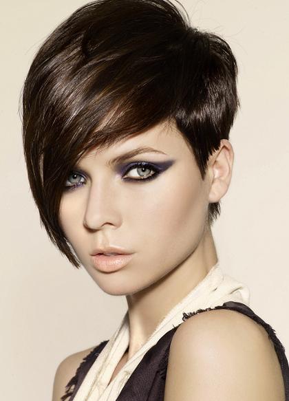 Pin By Crystal Stewart On Hair Hair Styles Short Emo Hair Short Hair With Bangs