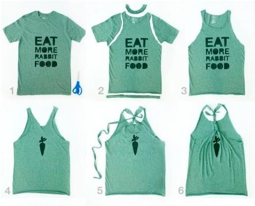 Tutto Mescolati: Abadá Customizar camisetas, Costumização de