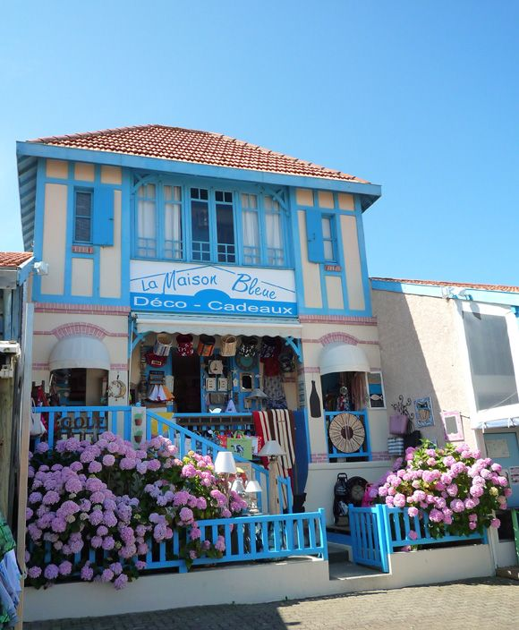 La La Decoration De Maison la maison bleue lacanau ocean - magasin