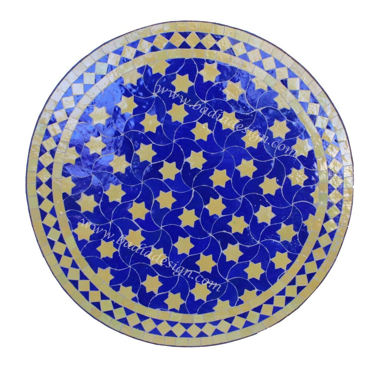 Round Moroccan Tile Table Including Moroccan Tile Table Top Los Angeles,  Tile Table Top, Moroccan Patio Furniture, Moroccan Tile Table, Mosaic Tile  Table ...