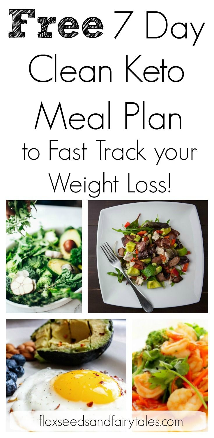 FREE One Week Keto Meal Plan for Beginners #ketomealplan