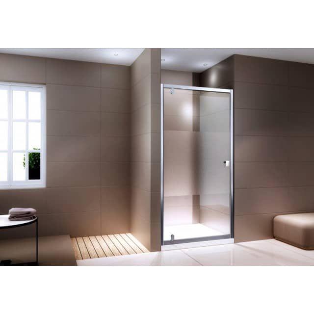 Duschkabine Nischentür NANO Echtglas EX306 Milchglas