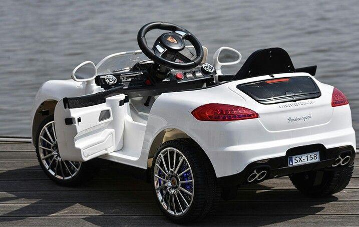Porsche Kids Electric Car White
