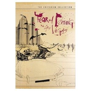 Fear and Loathing in Las Vegas (DVD, 2003, Criterion Collection) 2 disc set