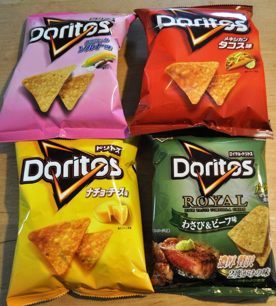 Doritos japan snack chips snacks food
