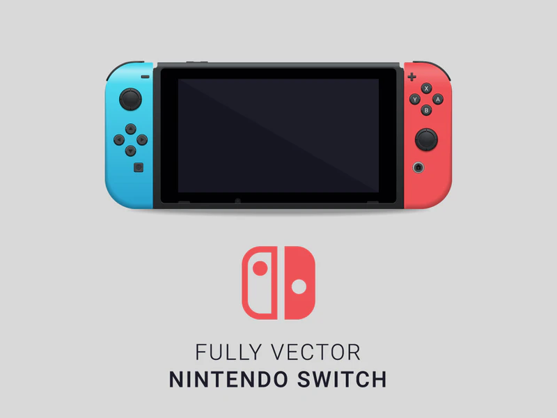 Fully Vector Nintendo Switch Graphberry Com Nintendo Switch Nintendo Switch