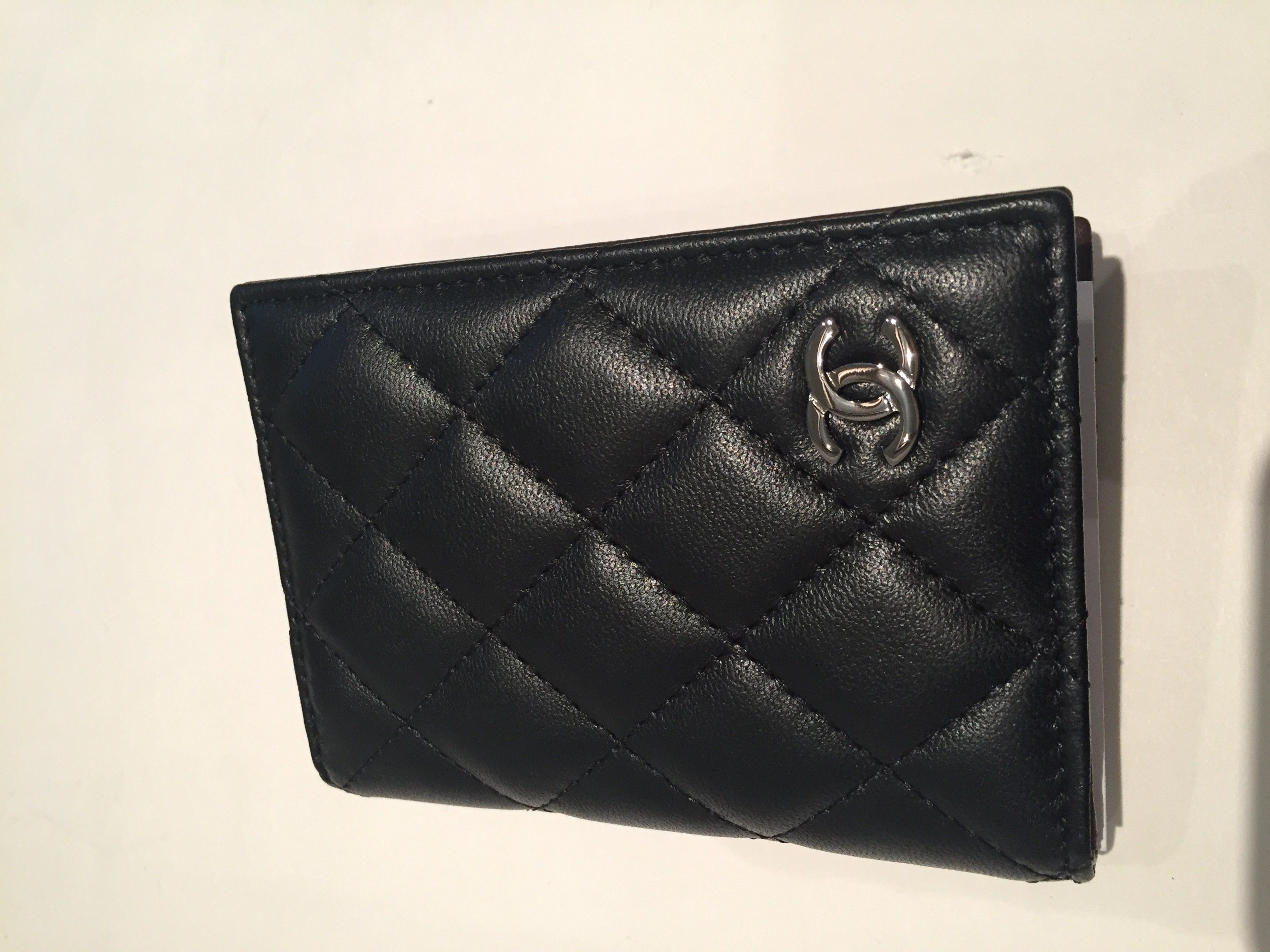 Chanel id card holder chanel card holder french wallet