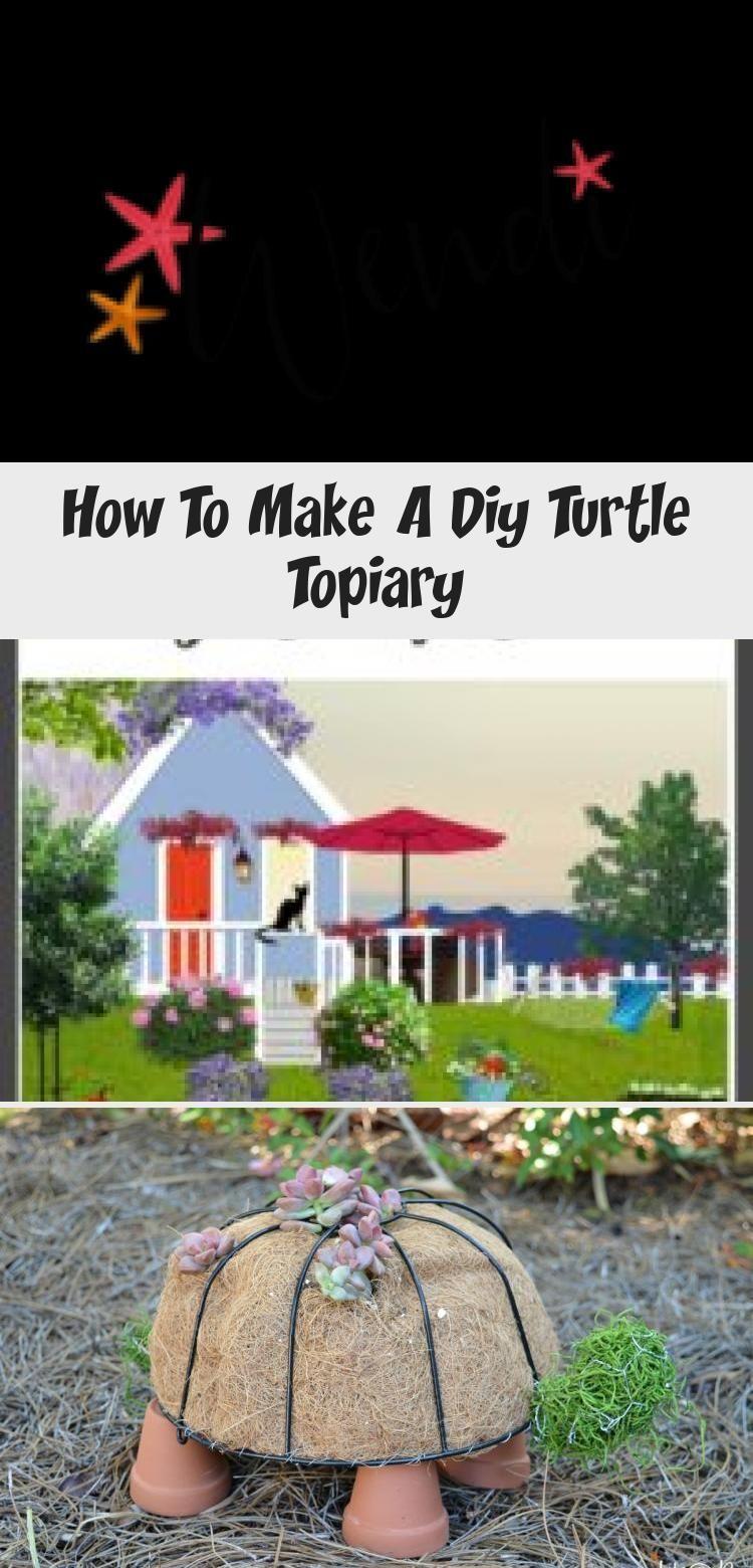 Wie erstelle ich ein DIY Turtle Topiary Tutorial aus einem einfachen Dollar Stor... -  Wie erstelle ich ein DIY Turtle Topiary Tutorial aus einem einfachen Dollar Store und Hardware …  - #aus #DIY #diygardendecordollarstores #dollar #Ein #einem #einfachen #erstelle #gardendiydecor #gardenplanting #ich #STOR #topiary #turtle #tutorial #Wie