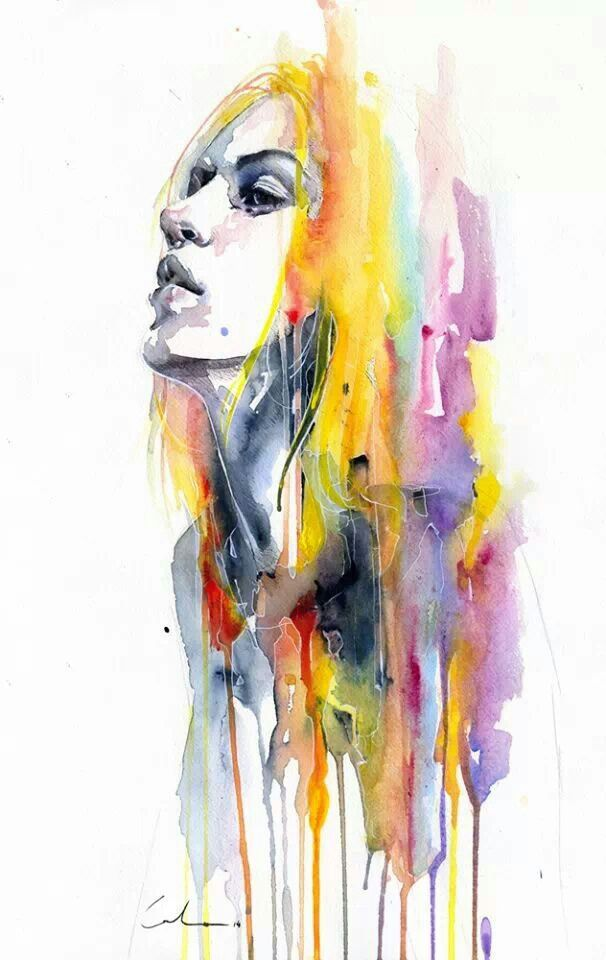 Agnes Cecile Sun Shower Art Painting Colorful Art Art Prints