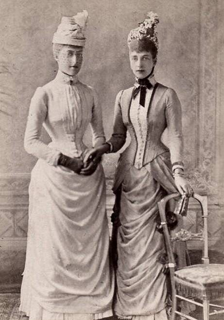 Queen Alexandra and Toria in the 1880s
