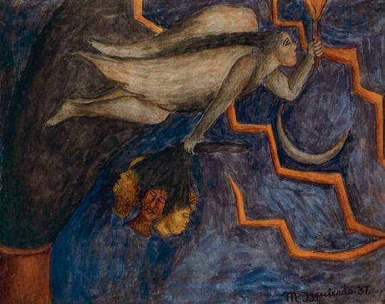 Alegoría de la libertad» María Izquierdo (1937) (con imágenes ...