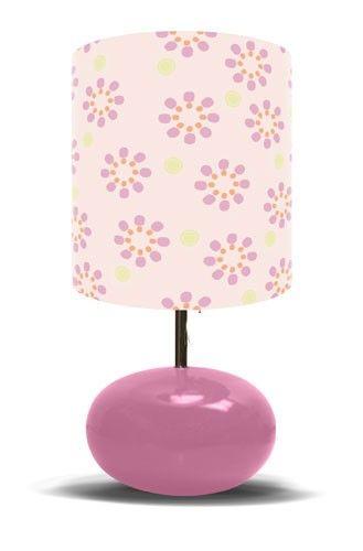 Pink Starburst Lamp