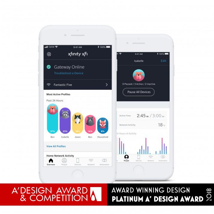 Xfinity xFi Mobile Application Mobile application