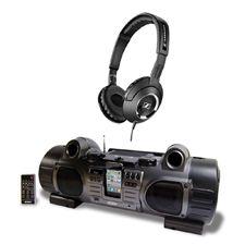 Paquete musical, que te da el reproductor y los audífonos para que puedas escuchar tu música a todo volumen, llévalos a donde quieras con la mejor fidelidad en audio.