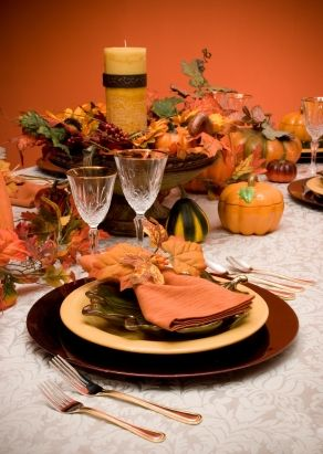 Thanksgiving Decorating Ideas Table Decorations Parties