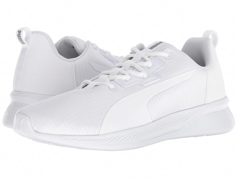 554a791d1f14 PUMA Tishatsu Runner Men s Running Shoes Puma White Quarry  RunningShoes